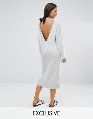 Micha Lounge – Pulloverkleid mit Einsatz hinten