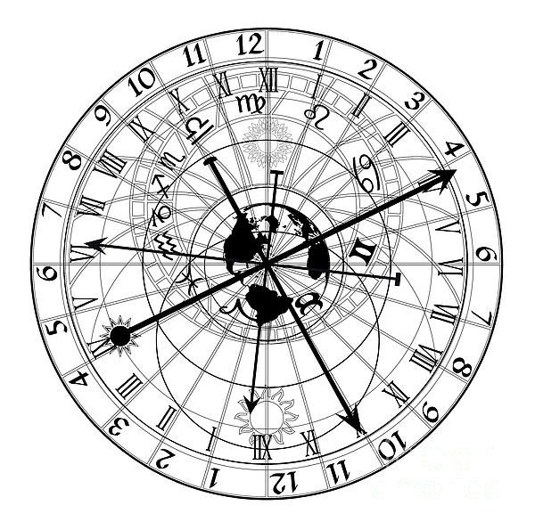 Astronomical Clock Tattoo: 10 Best Images About Tattoo On Pinterest
