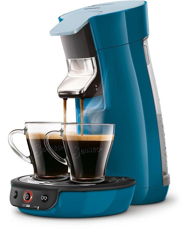 Senseo Viva Cafe HD7829/70 Pod coffee machine 0.9L 6cups Blue coffee maker - coffee makers (freestanding, Fully-auto, Pod coffee machine, Senseo, Coffee pod, Caffe crema)