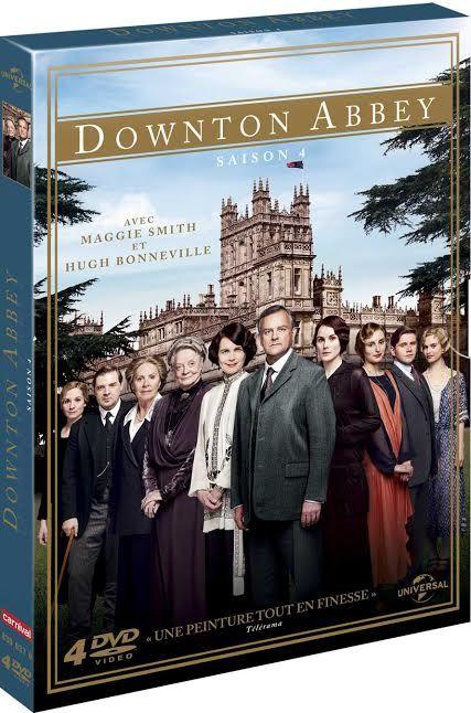 Downtown Abbey Saison 4 en DVD et BLU-RAY (Actus)