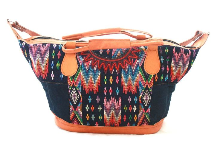 Medium Huipil Bag-Poptun