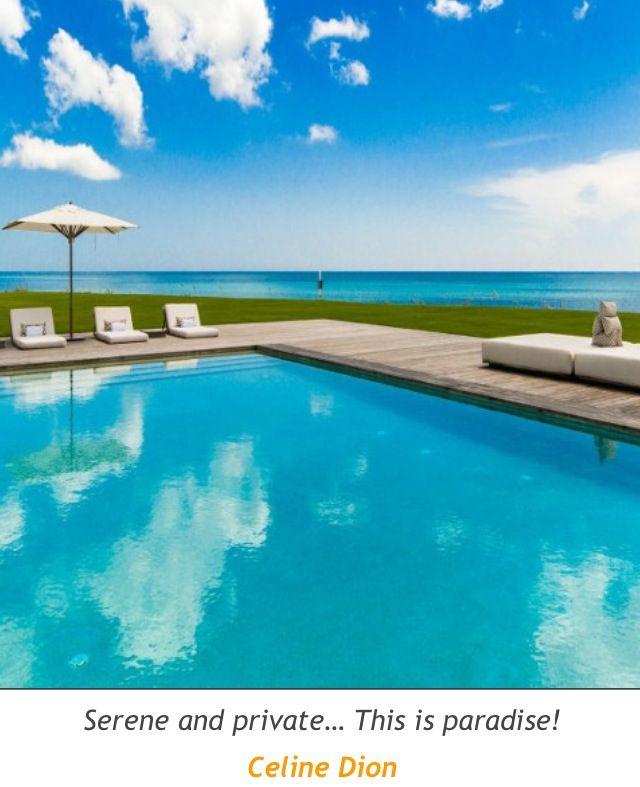 28 best images about celine dion on pinterest mansions - Celine dion swimming pool ...