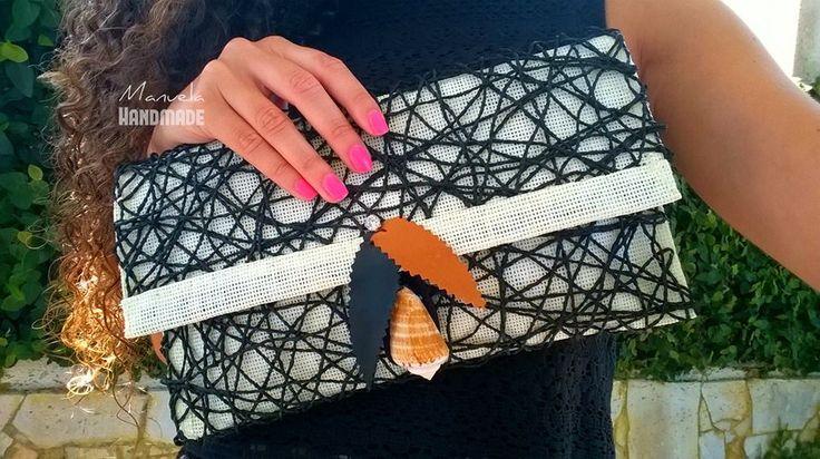 Handmade Clutch. By Manuela Pinho