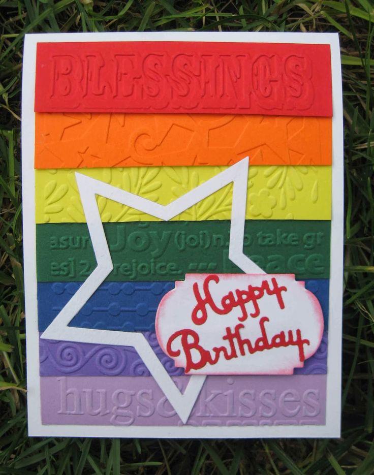Betta Scrap: Biglietto arcobaleno