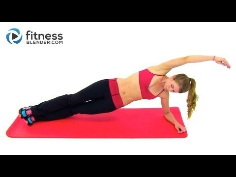 Pilates and Cardio Workout - 28 Minute Fitness Blender Cardio Pilates Blend - YouTube