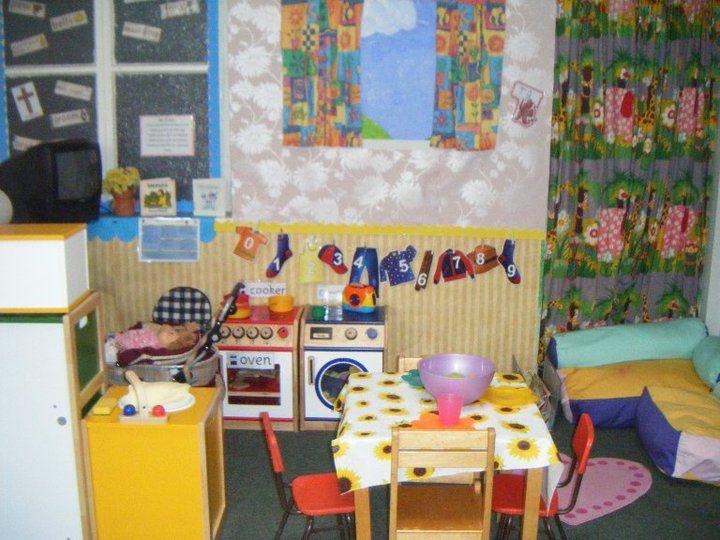 Home Corner Role-play Area Classroom Display Photo