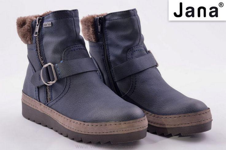 Jana női bokacipőben, még a hideg reggeleken se fog fázni a lába! Jana bokacipő meleg bélelt és a mind a kettő oldalán cipzár található, amiből az egyik csak dísz :)  http://valentinacipo.hu/jana/noi/kek/bokacipo/147576641  #Jana #Janacipő #bokacipő #Valentinacipőboltok — Megjelenített termékek: Jana bokacipő - 8-8-26417-29-805