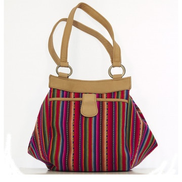 Bella Boheme Textiled Bag by Inca Boots. $69 from fab.com