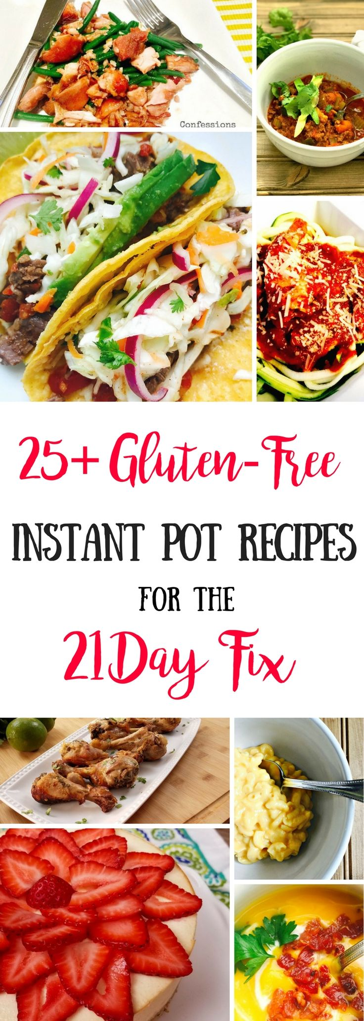21 Day Fix Gluten Free Instant Pot Recipes