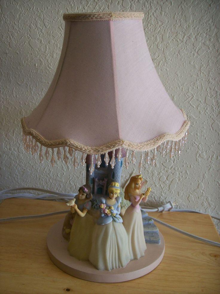 Disney Table Lamp : Disney princess table lamp just pinterest