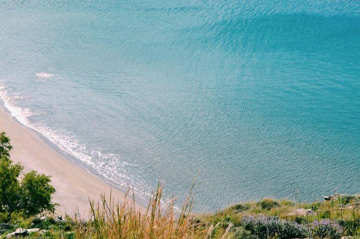 Beach in Tinos #tinos #greece #cyclades #sea #beach #beaches www.feggeratinos.com