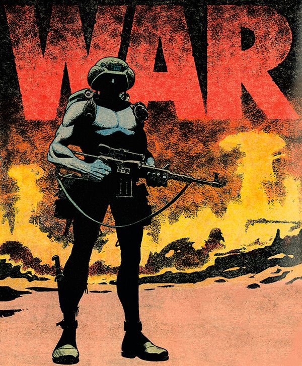 Rogue Trooper War by Dave Gibbons | 2000AD | Comic Art