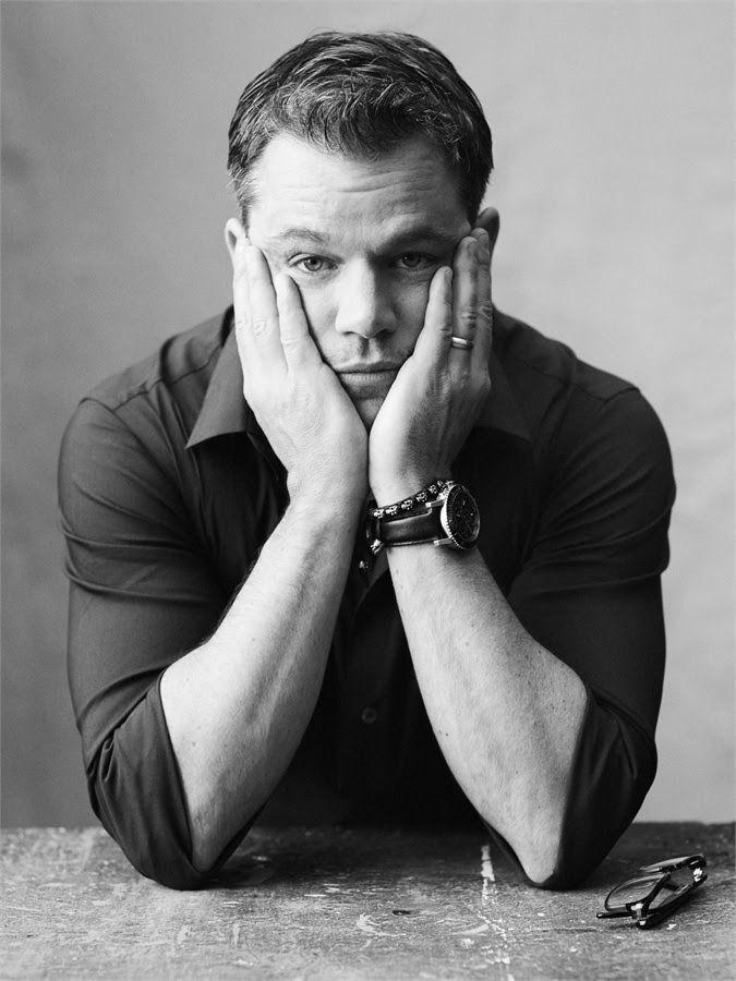 Matt Damon. Actor Americano. (08/10/1970) 45 años.                                                                                                                                                      Más