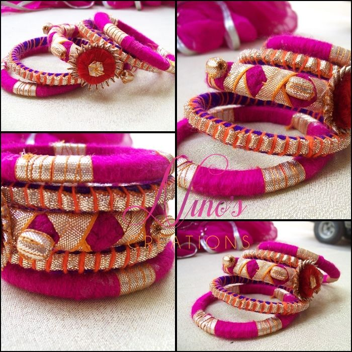 handmade bangles by http://www.facebook.com/pages/Ninos-creations/123853704344831