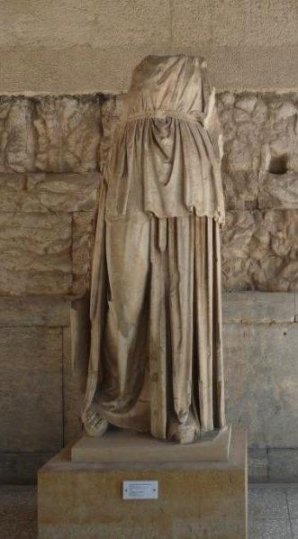 Ancient Statue - Ancient Agora, Athens