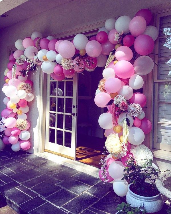 25 best ideas about balloon arch on pinterest balloon for Arch decoration supplies