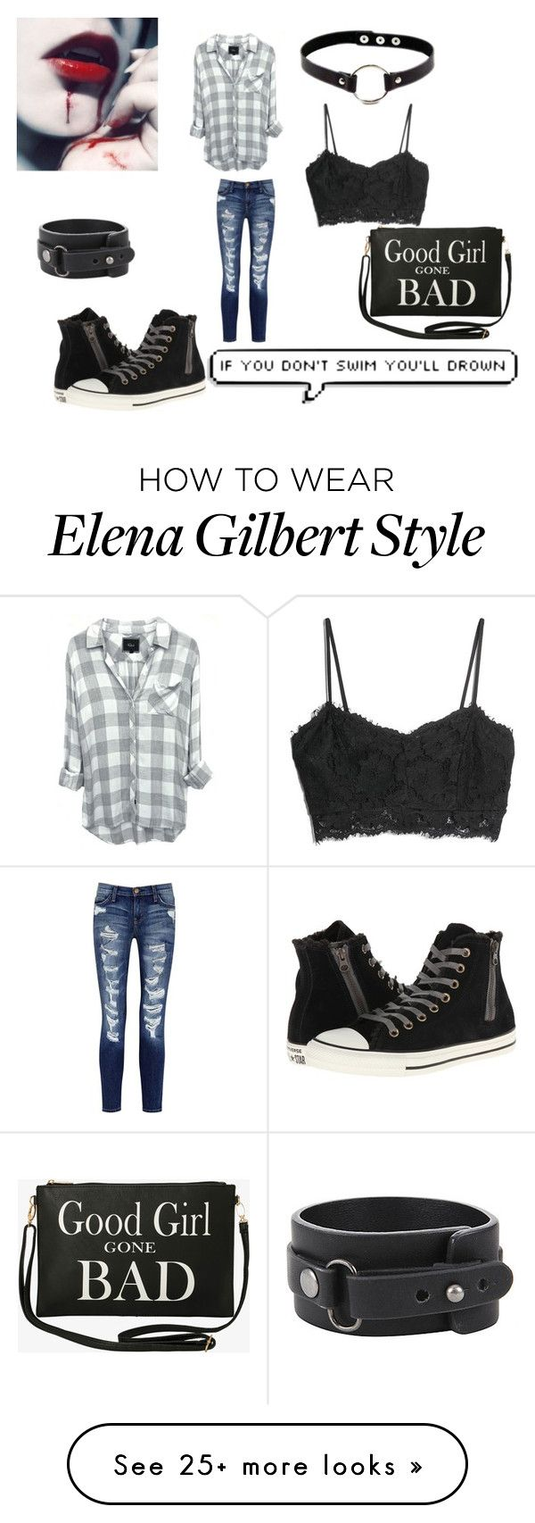 """Untitled #170"" by alyssacomer on Polyvore featuring MANGO, Converse, Current/Elliott and Torrid"
