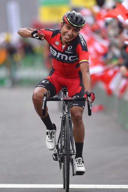 #DarwinAtapuma #BMCRacing wins stage 5 at the #TourdeSuisse