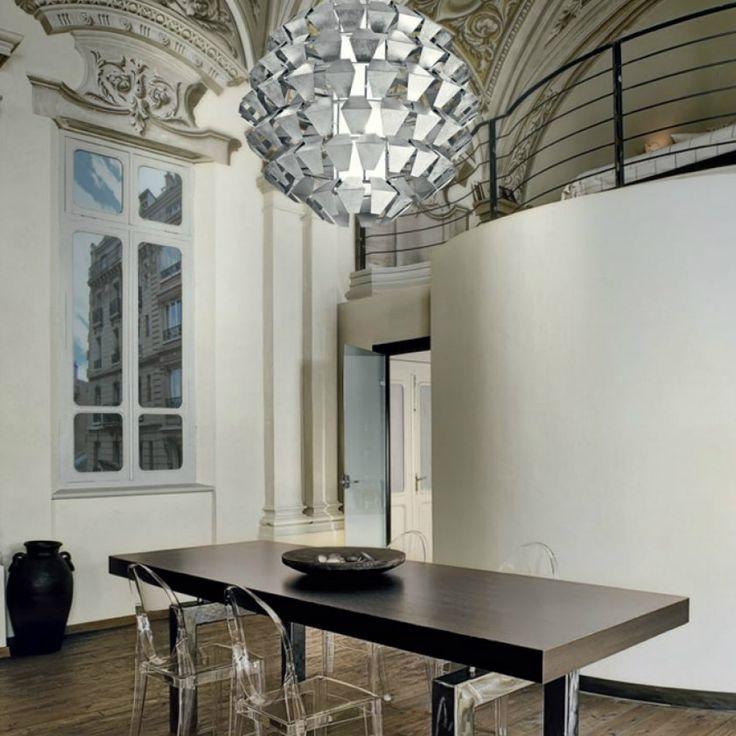 Panzeri Agave, una collezione di lampade create da petali in metallo bianco. A richiesta la preziosa foglia argento, foglia oro o foglia rame!