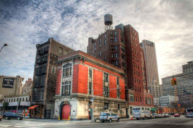 """""""Ghostbusters"""" Firehouse, Tribeca, NYC 