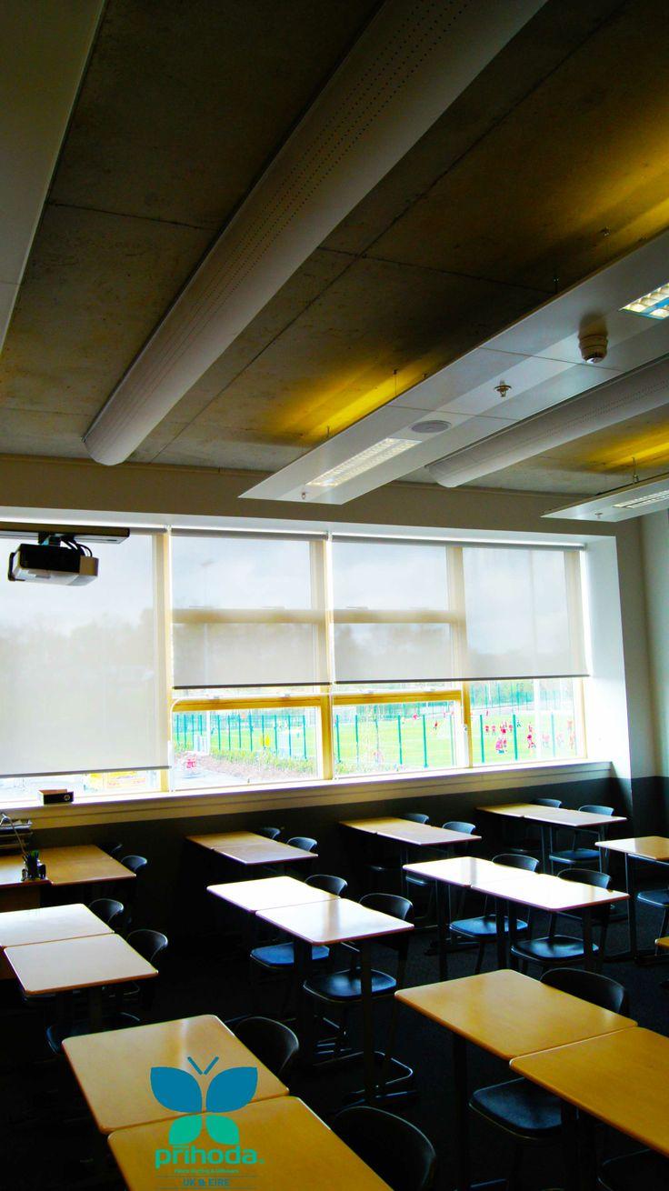 #prihoda #textileventilation at eastwood school glasgow
