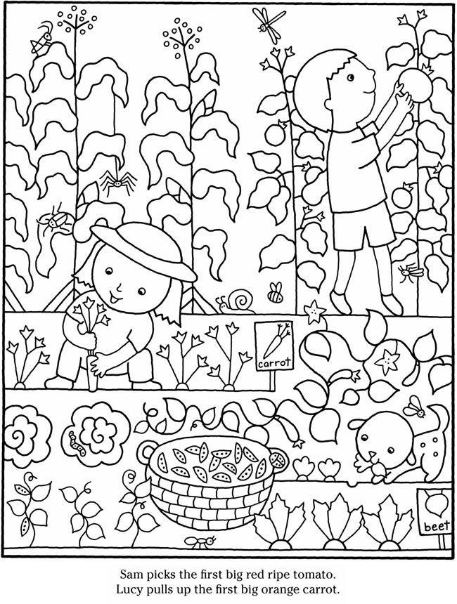 Color & Garden VEGETABLES Dover Publications