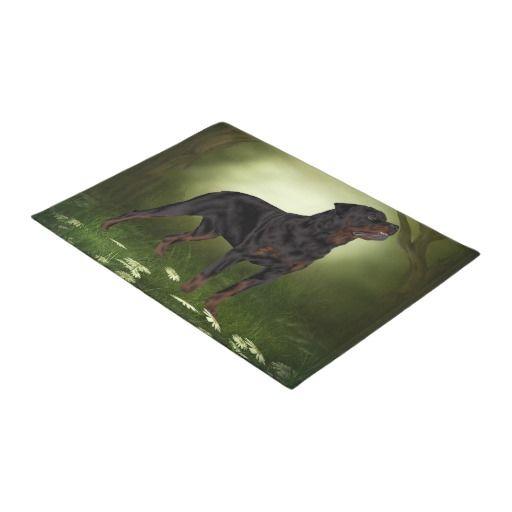 Rottweiler Dog Doormat