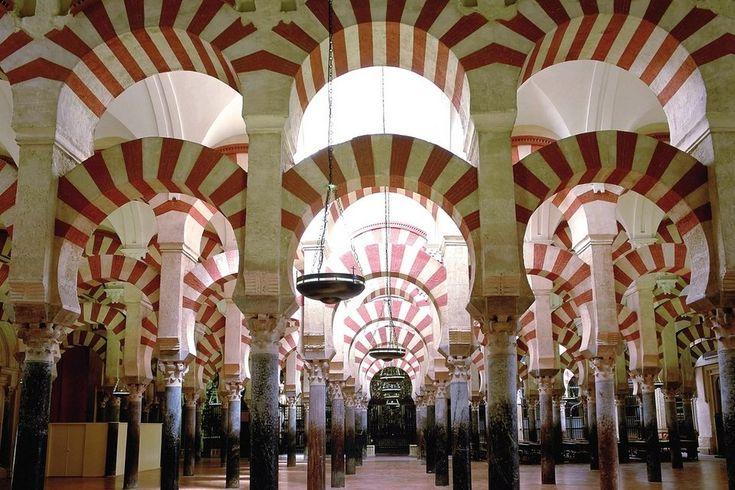 La Mezquita de Córdoba,  Las espectaculares ciudades españolas Patrimonio de la Humanidad