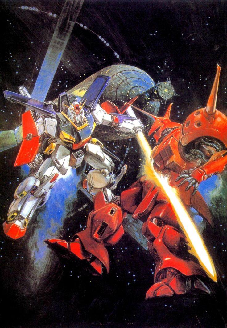 Gundam by Yoshiyuki Takani   ガンダム - 高荷 義之