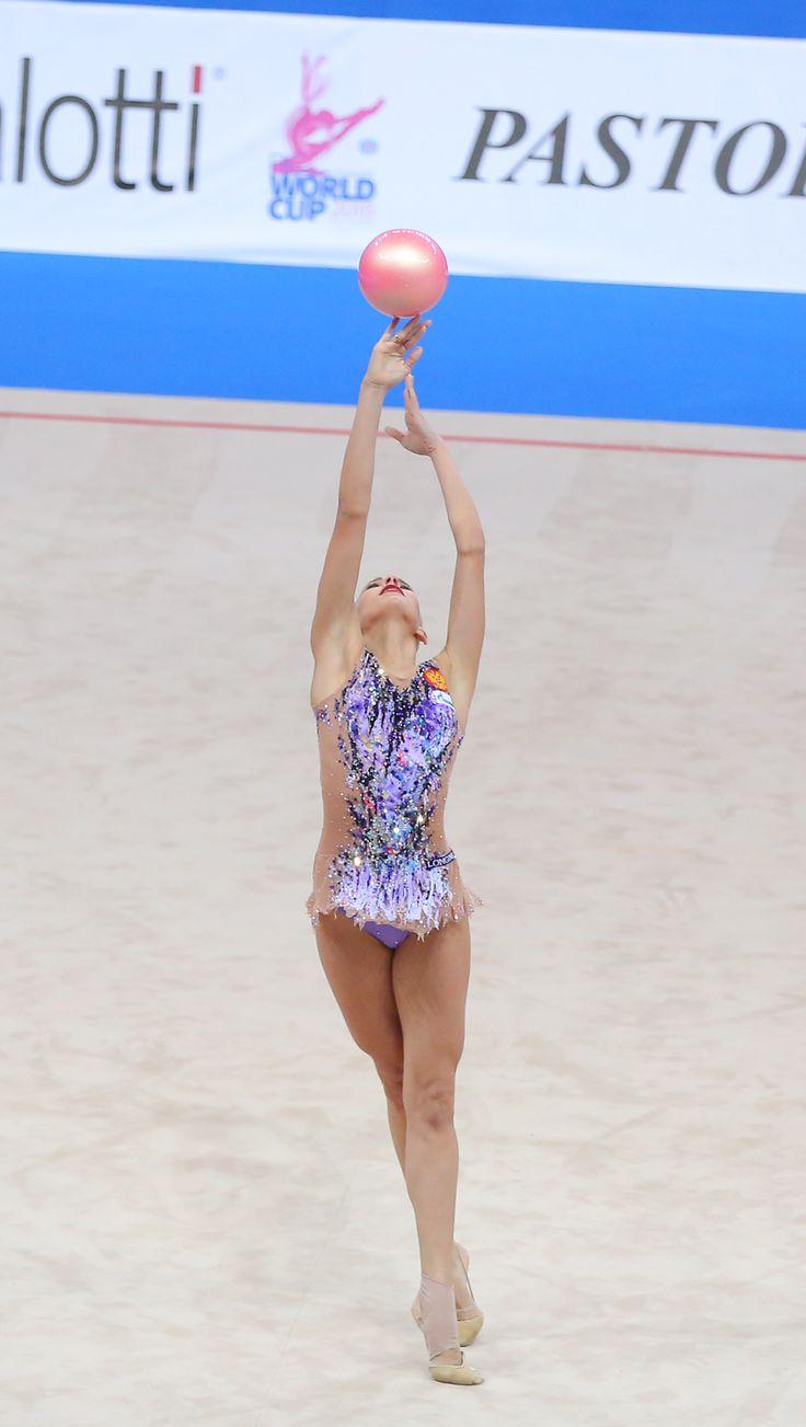 Yana Kudryavtseva World Cup Pesaro (Italy) 2016 ball