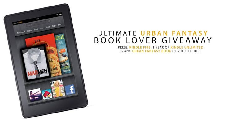 #UrbanFantasy #Giveaway Win A Kindle Fire, 1 Year of KU and Any Urban Fantasy…