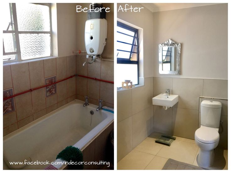 Bathroom renovation project as part of a garage conversion project for a client in Pinelands, Cape Town. A shower has been added too.