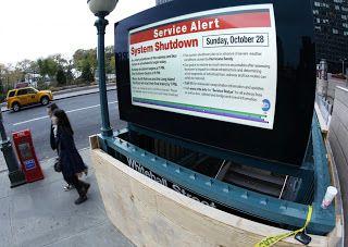 Ouragan Sandy: images de New York vide - http://www.2tout2rien.fr/ouragan-sandy-images-de-new-york-vide/
