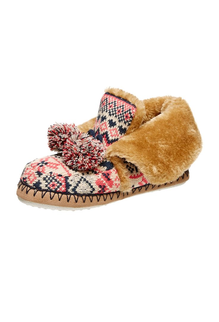 Ladies Knitted Boots | Peter Alexander