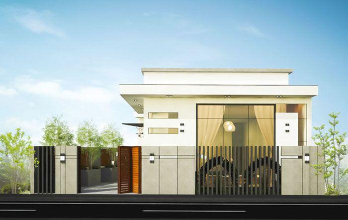 8 mẫu thiết kế nhà cấp 4 cuốn hút hiện đại
