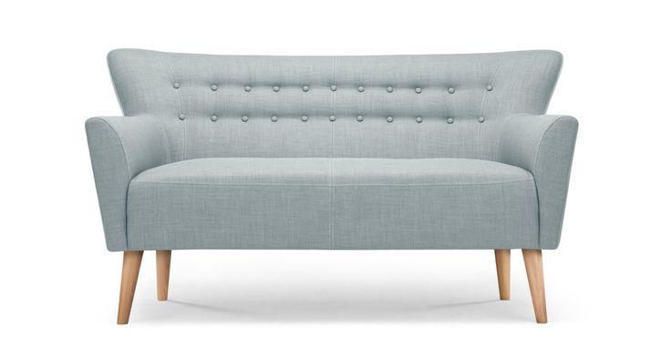 Quentin 2 Seater Sofa, Glacier Blue