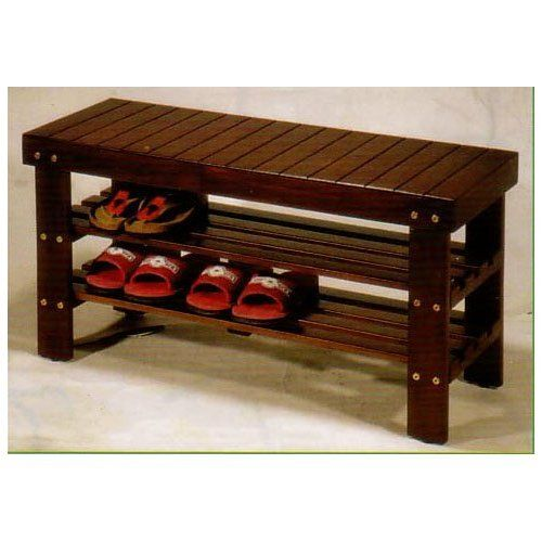 Quality Solid Wood Shoe Bench Storage Bench Furniture Storage For Your Shoes  And Boots. A Place To Sit While Putting On Your Shoes.