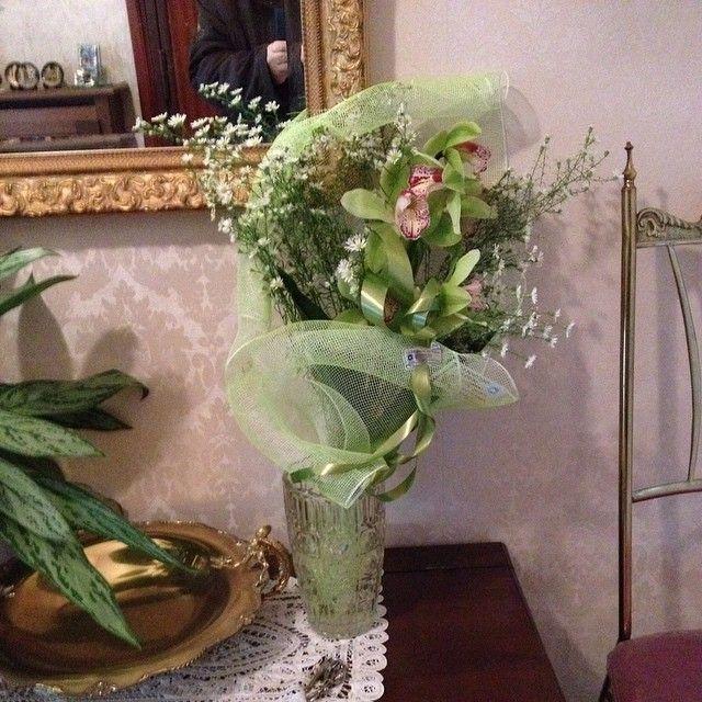 Bouquet di Fiori per il giorno di compleanno di mia mamma