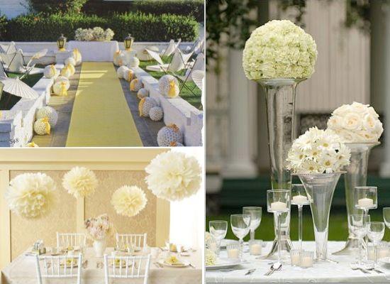 I love this idea: Ideas Wedding, Indian Weddings, Inspiration Ideas, Wedding Ideas, Events Decor, Indianweddingsmag Com Tables, Pomand Ideas For Wedding 001, Wedding Centerpieces, Pomand Ball