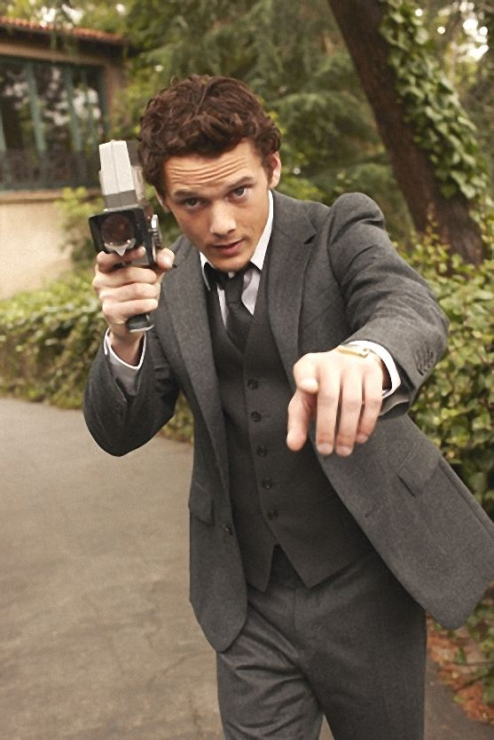 Anton Yelchin. Oh how I long to work with this man. Le sigh.