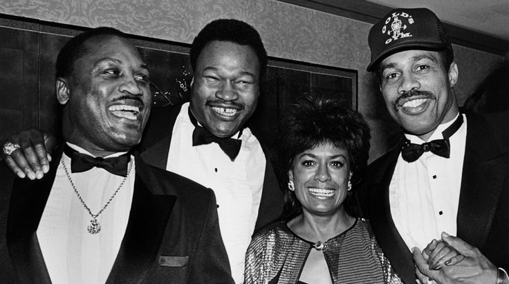 Joe Frazier, Larry Holmes, Barbara McNair & Ken Norton                                                                                                                                                                                 More