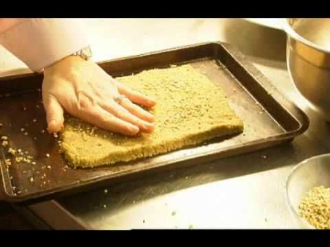 Scottish Recipe: Oatcakes.  Glasgow chef Jacqueline O'Donnell from The Sisters