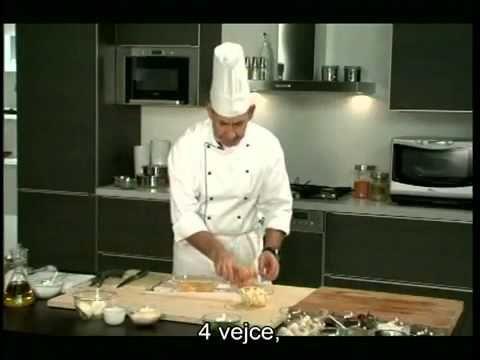 AP Servis: recept na zeleninovou tortillu připravenou pomocí funkce Crisp u trub Whirlpool - YouTube