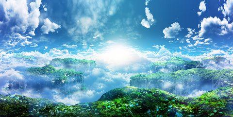 [pixiv] 【背景】見ただけで感動する大自然!!【息を飲んでしまう圧倒的な世界観】 - pixivスポットライト
