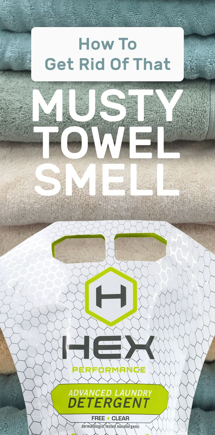 Get Rid Of The Musty Towel Smell In One Wash! Before You Go In And