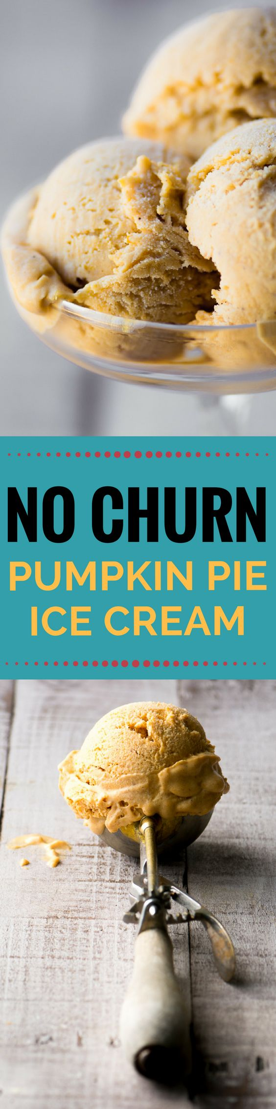 No Churn Pumpkin Pie Ice Cream is always a big hit at the holidays! ~ theviewfromgreatisland.com