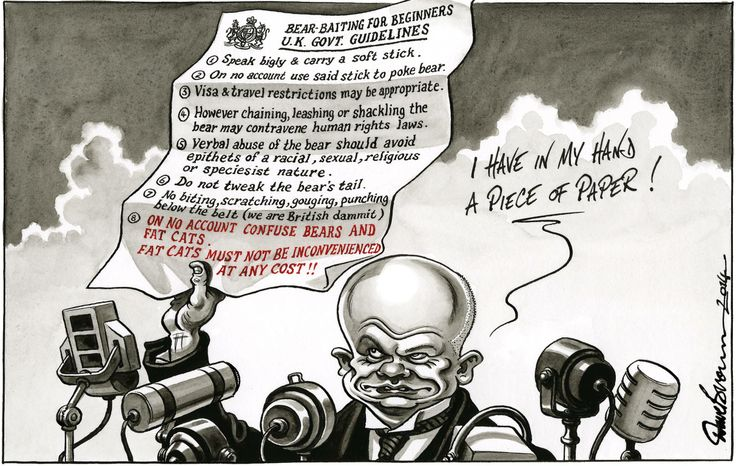 5 March 2014 - Hague baiting the Russians? Or the fat cats?