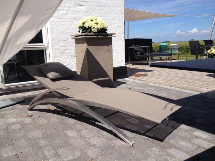Solvogn, Oxon sunlounger, #garden furniture, #Lifeform.dk