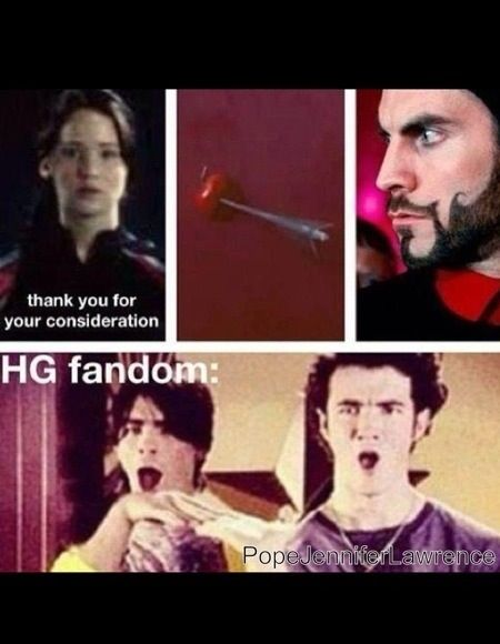 Hunger Games Humor / Lol funny haha