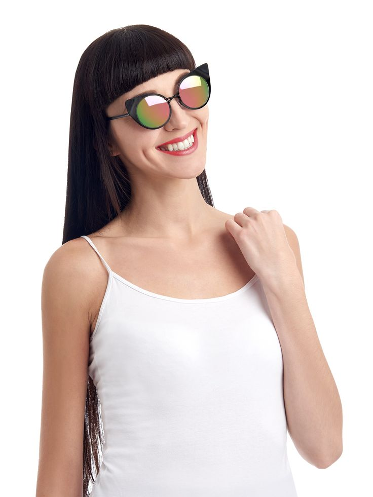Fleur Sunglasses by the MIX: . What hides behind those mirrored eyes of hers is something deep and dark that has that air of mystery that will intrigue and beguile.